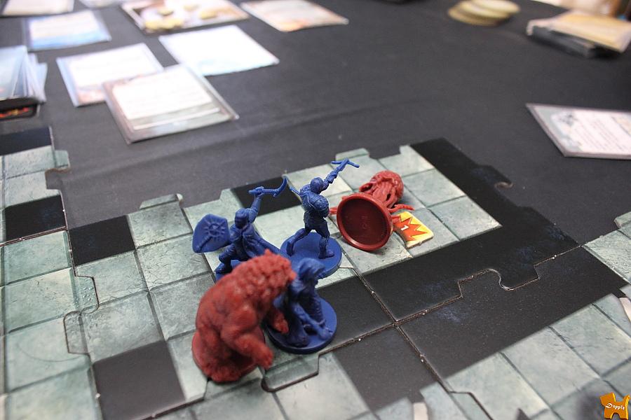 三個英雄終於聚了一下,觸手怪也死了