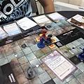盜賊先去打小怪,旋風斬砍了三隻怪物!