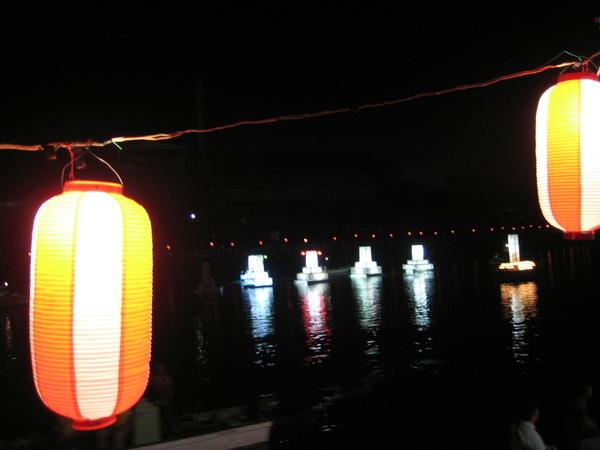 八戶的水燈籠