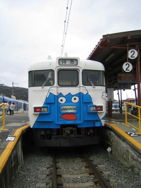 專門給富士線,富士山專用觀光火車!