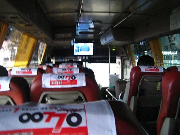 機場到市中心有很方便的機場專用公車。