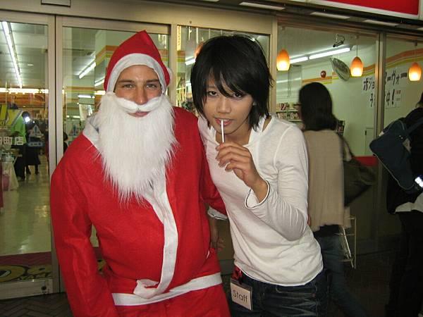 萬聖節的聖誕老公公