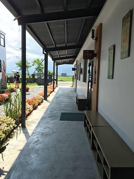烘培教室外的走廊
