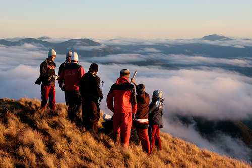 high altitude mt_ pulag