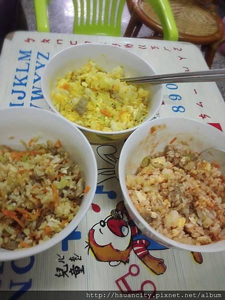 三色炒飯6