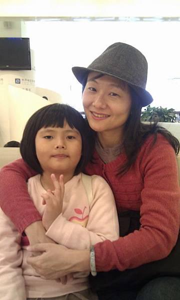 松山機場  母女的小旅行要出發了