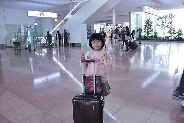 到羽田機場了