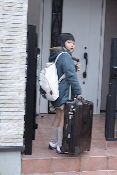 自助旅行就要自己提行李