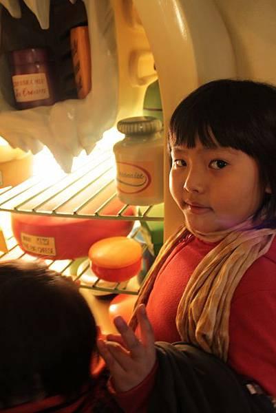 開米妮的冰箱看看有甚麼