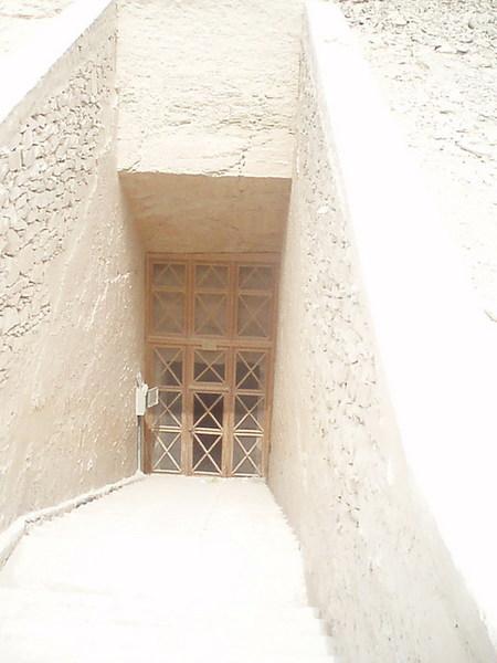 帝王墓穴入口