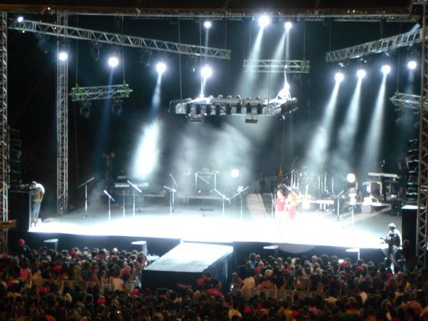 簡單的舞台設計