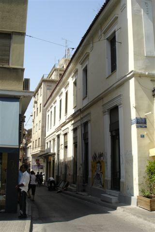 市中心的小巷