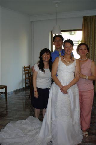 同學和媽媽的合照