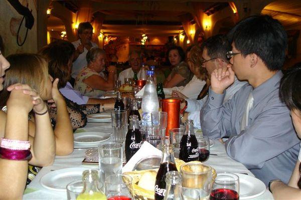 婚禮後的晚餐