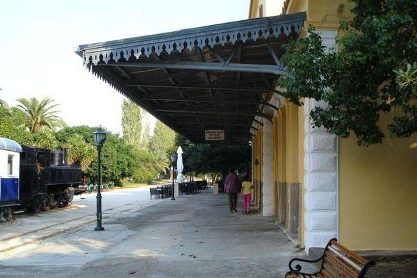 老式的車站
