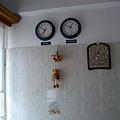 新家廚房的時鐘