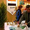 埃及的漂亮水煙壺