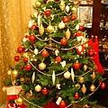 小外甥家裏的大聖誕樹
