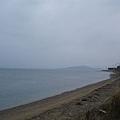冬天的海邊
