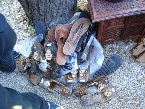 非洲鞋子拍賣