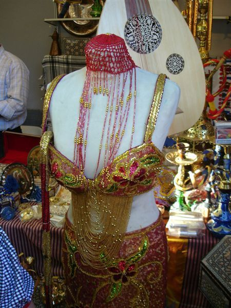 埃及的肚皮舞衣服