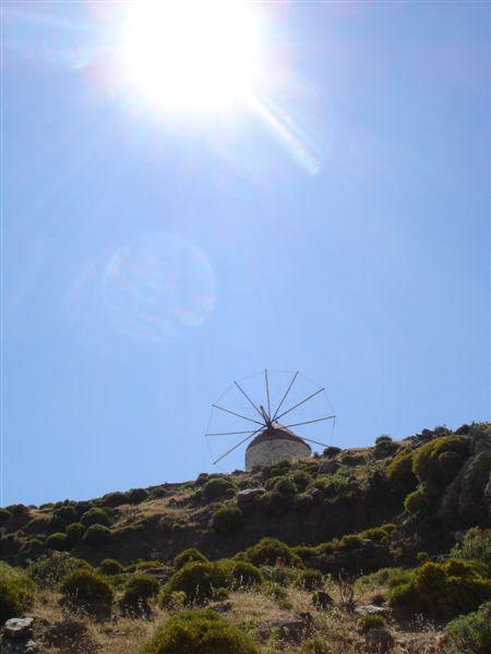 windmill in Apiranthos