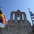 教堂正面的鐘