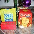 聖誕禮物跟Panatone