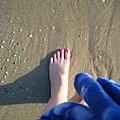細軟的沙灘好舒服