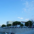 Spetses港口附近
