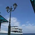 Spetses小島的港口