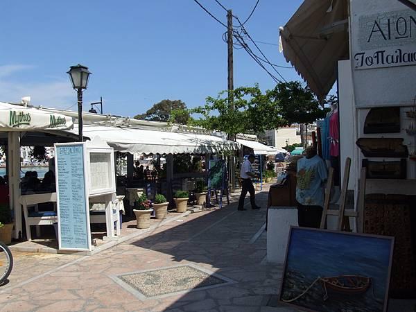 商店街與咖啡店