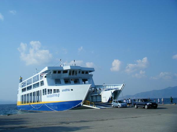 Akritsas港口