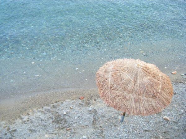清澈的海灘