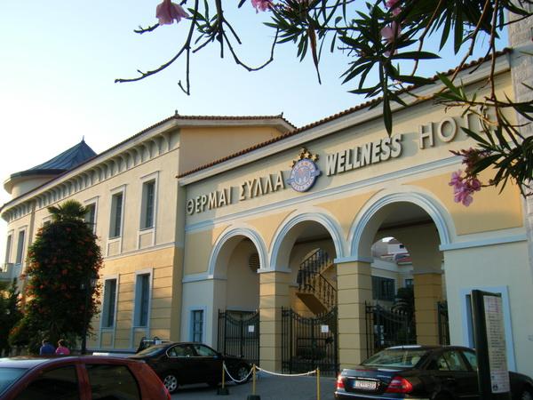 Edipsos當地最豪華的老飯店