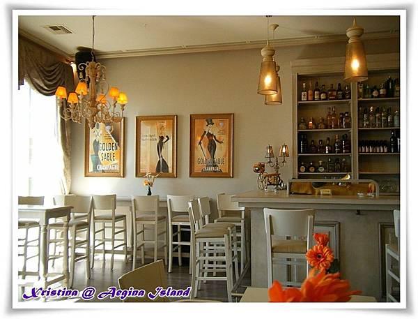 enjoy coffee near port area