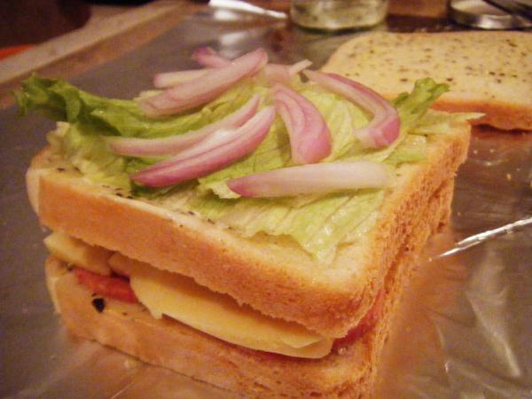 Salami三明治