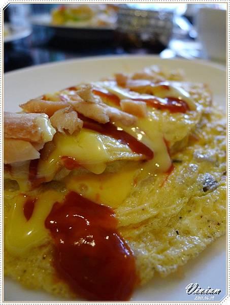 香菇起司歐姆蛋
