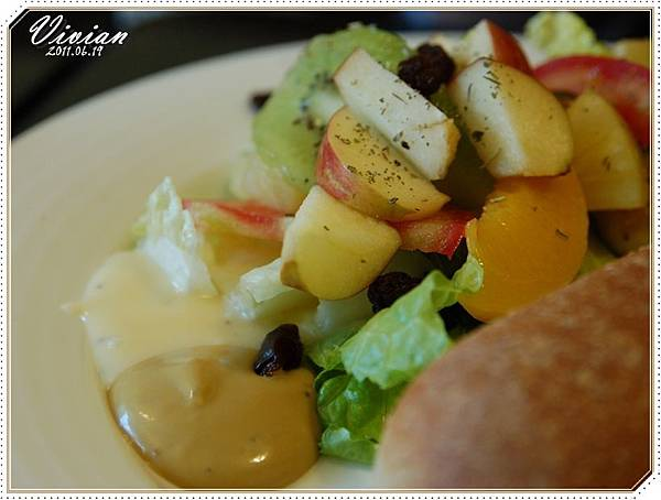 生菜水果沙拉