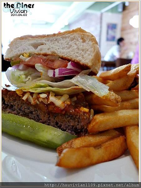 辣味牛肉漢堡