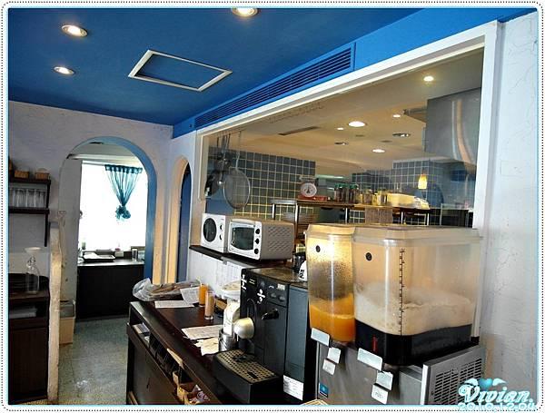 開放式的廚房
