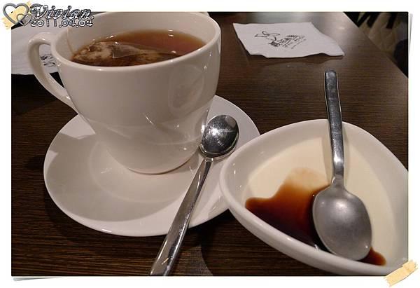 熱茶+奶酪
