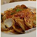 茄汁蛤蠣義大利麵