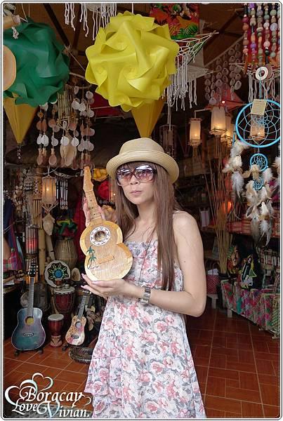 可愛的椰子殼小吉他