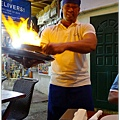 Saganaki-Flaming 火焰料理