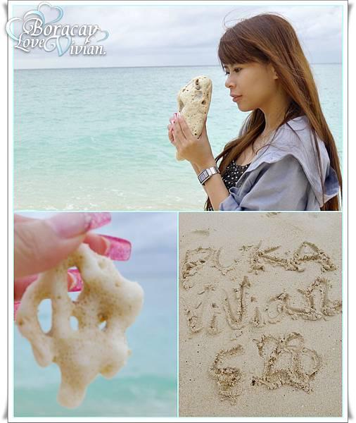 石頭充當貝殼
