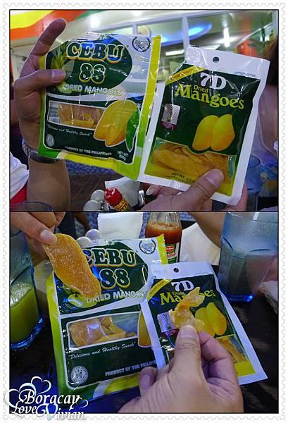 兩大芒果乾 比一比