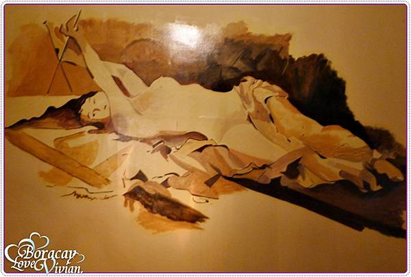 特殊的壁畫