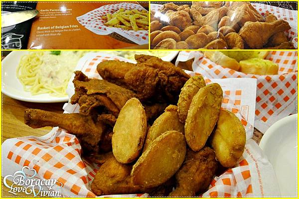 雞塊+薯餅