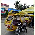 在長灘島的交通工具 Tiricyle
